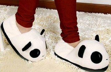 Zapatilla calientes de oso panda