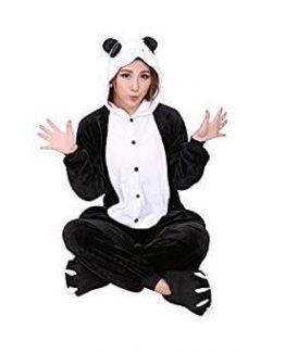 Carnaval Disfraz Cosplay Pijamas Adultos Oso Panda