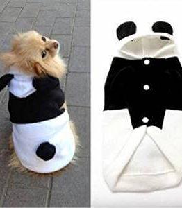 Disfraz con capucha forro polar Panda