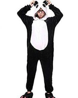 Disfraz de adulto tipo Pijama de Oso Panda