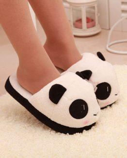 Pantuflas de oso panda
