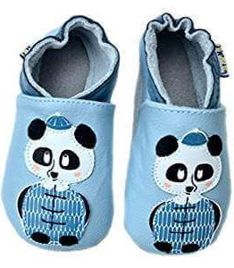 Patucos para bebe con diseño de oso panda