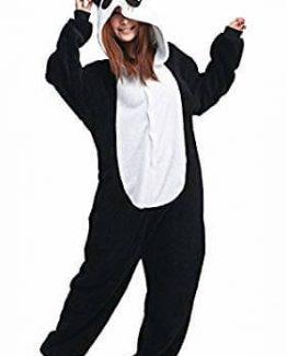Traje de de oso panda para adultos