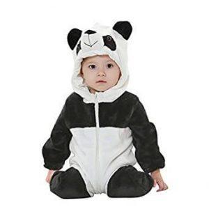 Ropa Panda de Noche Animal Carnaval Disfraz Cosplay Kigurumi Pijamas