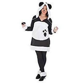 Disfraz adulto panda mimosa