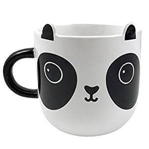 taza grande de oso panda