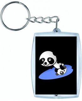 Llavero Panda Surfista