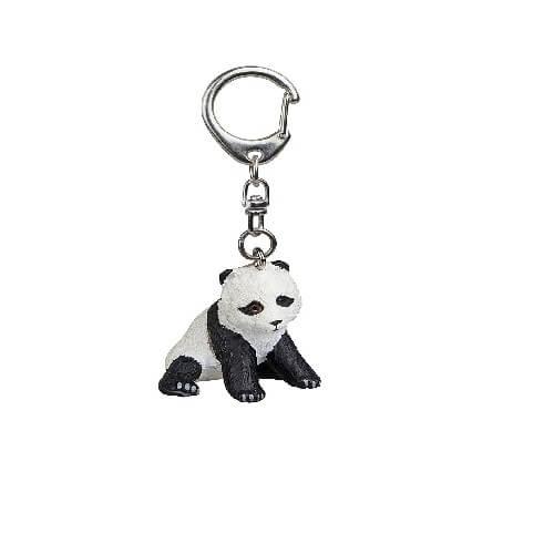 Llavero diseño de panda sentado