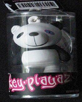 Llavero key playaz Oso Panda ojo morado