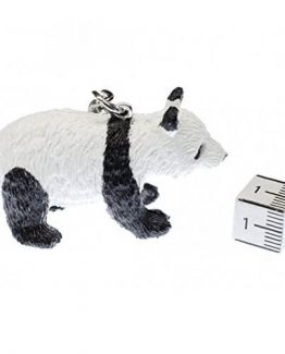 Panda oso panda llavero Miniblings colgante