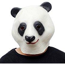 Mascaras de oso panda