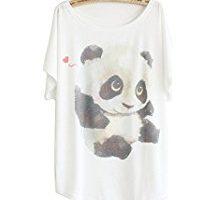 blusa de panda